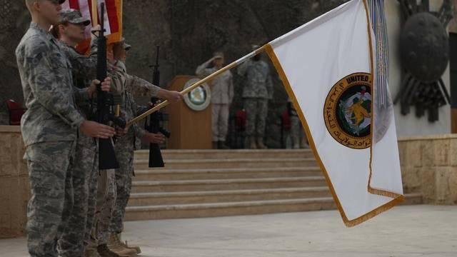 Zeremonie zum amerikanischen Truppenabzug im Irak