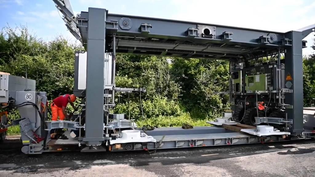 Dank mobiler Brücken zu weniger Baustellen-Stau