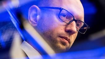 Obwohl er erst 39 Jahre alt ist, hat Arseni Jazenjuk bereits grosse politische Erfahrung. keystone