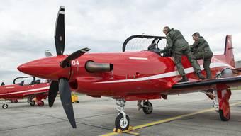 Hat der Stanser Flugzeugbauer Pilatus gegen das sogenannte Söldnergesetz verstossen? Mit dieser Frage beschäftigt sich nun auch die Bundesanwaltschaft in einem Strafverfahren. Dieses läuft gegen unbekannt. (Themenbild)