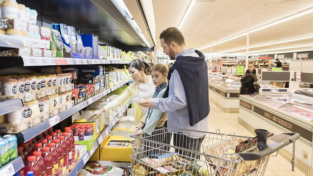 Inflation im Januar weniger deutlich im negativen Bereich
