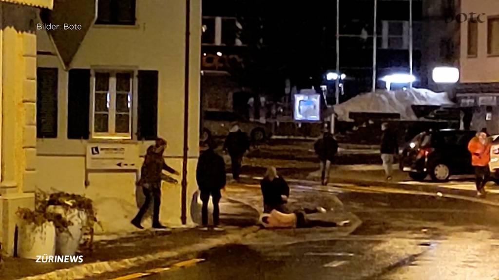 2 Verhaftungen: Eskalation nach Fastnachtstreiben in Einsiedeln