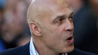 FCB-Coach gefror in seinem Abschiedsspiel das Lachen auf den Lippen
