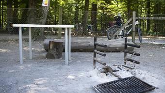 Grillieren im Freien darf man zurzeit an vielen Orten gar nicht oder nur an den vorgesehenen Feuerstellen. (Archiv)