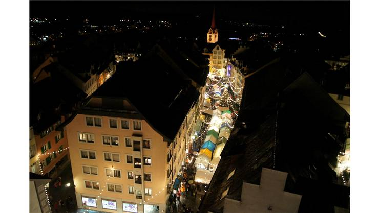 Die Bremgarter Neujahrsblätter sind just auf den bevorstehenden 20. Christkindli- und Weihnachtsmarkt erschienen. Archiv/Dominic Kobelt