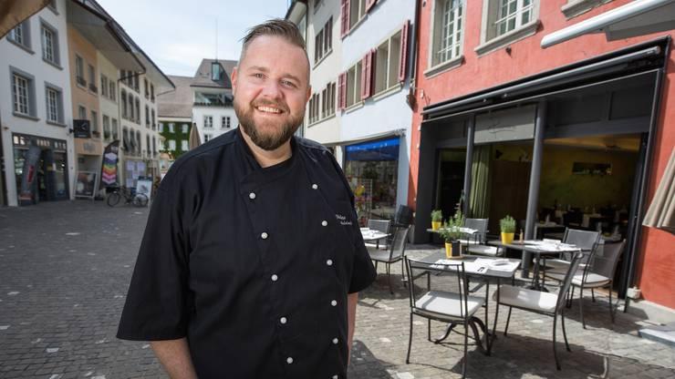 «Philipp Audolensky hat mit seiner Liebe zum Detail und mit seinen lustvollen Gerichten begeistert», schreibt der Gault Millau. Sein Restaurant Rosmarin (im Hintergrund) hat 15 Punkte.