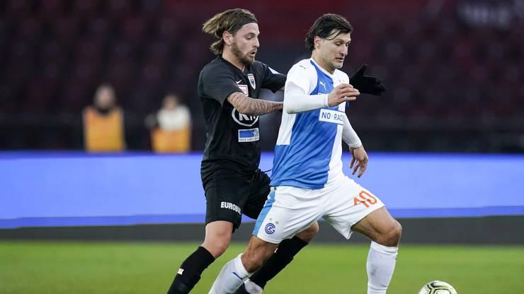 Jäckle steht der erste Challenge-League-Einsatz vor heimischer Kulisse bevor.