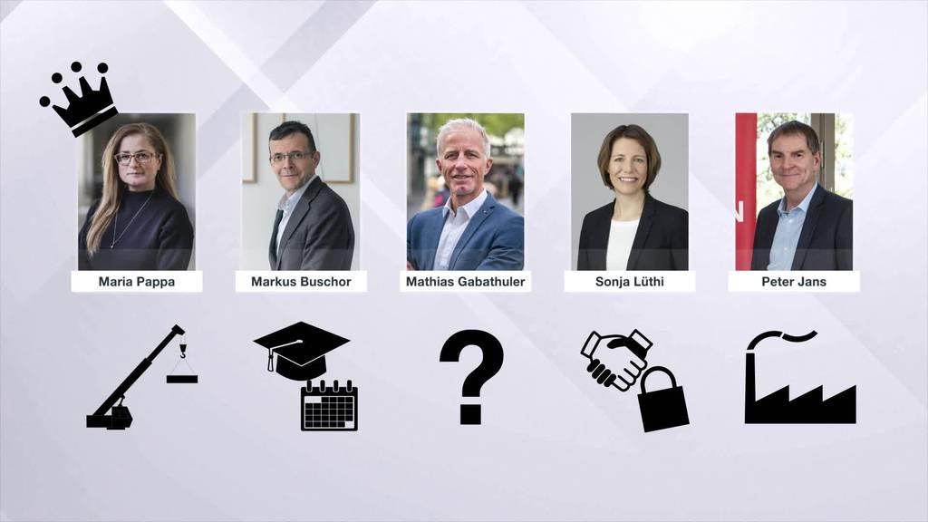 Rochade: Drei Stadträte wechseln ihr Departement