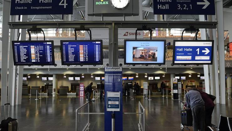 Der Euro-Airport im Hoch: Bald soll bei den Passagieren die 6-Millionen-Marke geknackt werden.