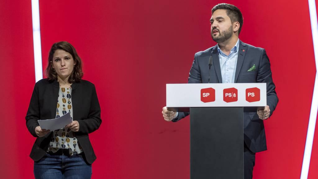 Mattea Meyer und Cédric Wermuth sind neue SP-Präsidenten