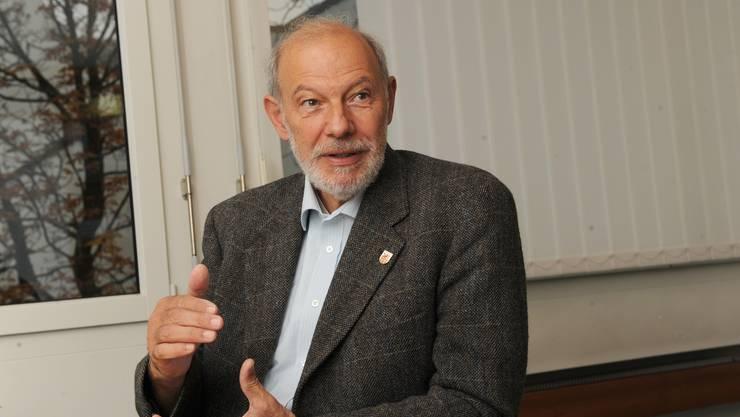 Peter Vogt beschreibt sich als Gemeindepolitiker durch und durch