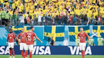 Bekommen die Schweizer an der EM im nächsten Sommer die Gelegenheit, sich für die WM-Achtelfinalniederlage 2018 gegen Schweden zu revanchieren? In Bukarest wird am Samstag ausgelost.