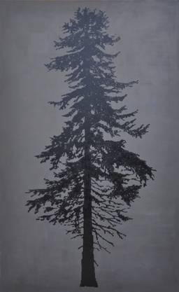 Acryl und Lack auf Leinwand, 2017 295 cm x 184 cm