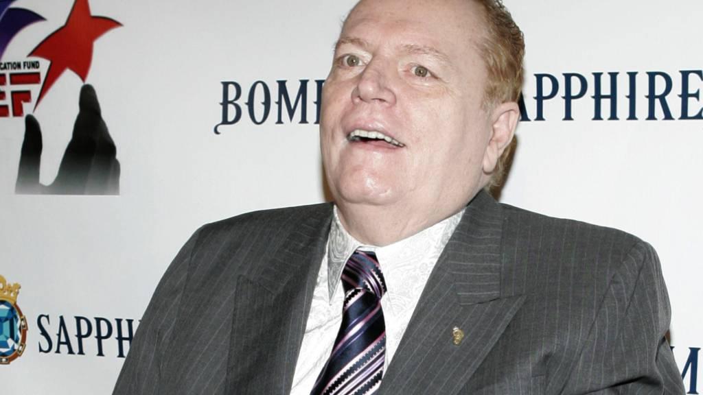 ARCHIV - Larry Flynt, Gründer des Magazins «Hustler», ist übereinstimmenden Medienberichten zufolge tot. Foto: Danny Moloshok/R-MOLOSHOK/AP/dpa