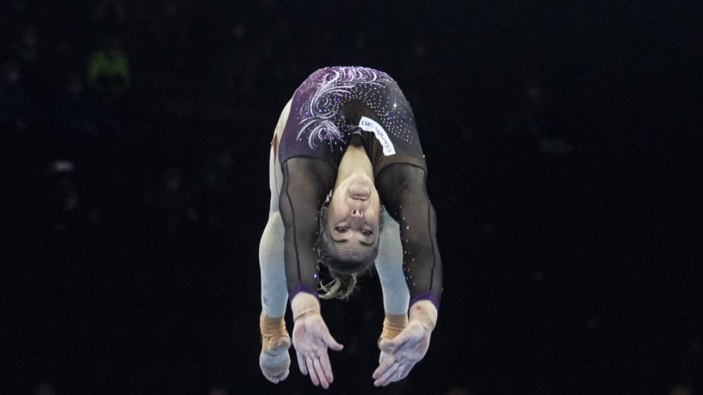 Giulia Steingruber bestreitet an den Schweizer Meisterschaften ihren letzten Wettkampf vor den Olympischen Spielen in Tokio.