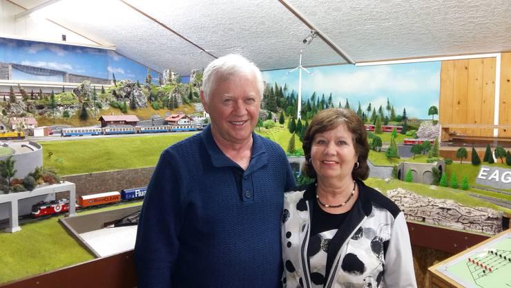 Seit über 40 Jahren dem Verein treu: Susi und Mario Plüss