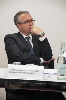 Remo Ankli Landammann, Kultur- und Bildungsdirektor: «Die Zeit ist ein zentraler Faktor beim Krisenmanagement.»