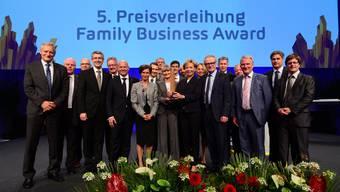 Die Fraisa SA wird mit dem Family Business Award ausgezeichnet.
