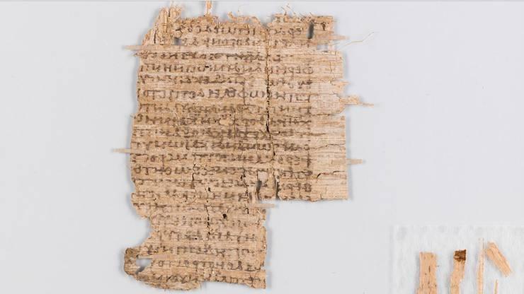Das Papyrusstück wir dem Antiken Arzt Galen zugeschrieben.