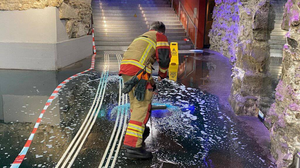 Mehrere hundert Liter Flüssigkeit im Bahnhof Bern ausgelaufen