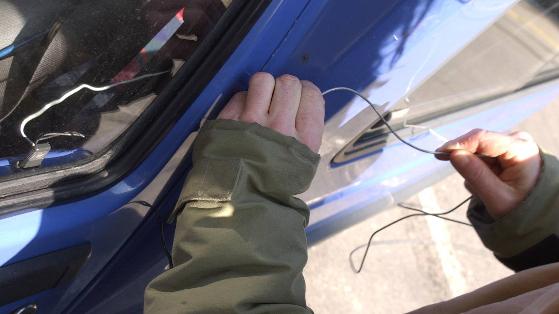 Im Kanton Appenzell Ausserrhoden wird im Durchschnitt jedes 800. Auto geklaut.