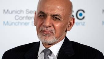 ARCHIV - Afghanistans Präsident Ghani hatte die Taliban zur Waffenruhe aufgefordert. Foto: Sven Hoppe/dpa