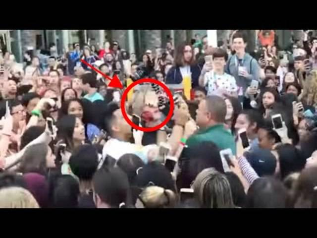 Fans drehen völlig durch: Logan Paul wird belagert und schliesslich von Sicherheitsleuten gepackt