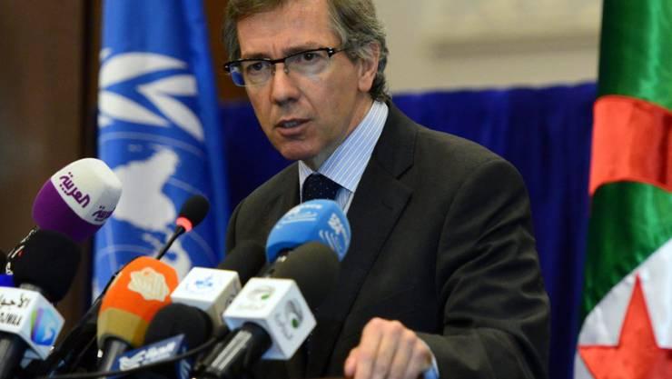 """""""Letzte Chance für Libyen"""": UNO-Sondergesandeter Bernardino Leon"""