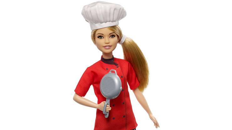 Barbie als Köchin