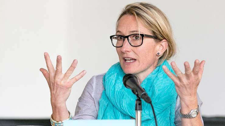 Susanne Hochuli: «Wir werden alles Nötige und Verhältnismässige unternehmen, um Probleme zu verhindern, aber ich kann nicht versprechen, dass es nie Probleme geben wird.»