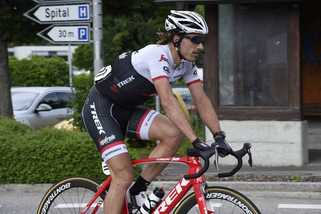 Auch Fabian Cancellara fuhr im Feld mit