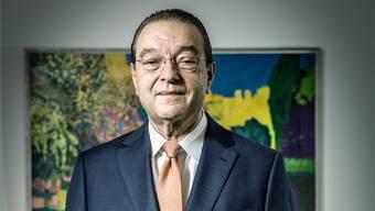 Oswald Grübel. Chris Iseli