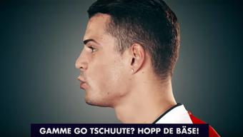 Xhaka und Özil bringen ihren Teamkollegen deutsch bei