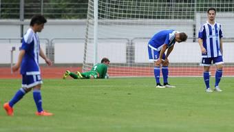 Die Spieler von Concordia Basel mussten sich klar geschlagen geben (Archiv).