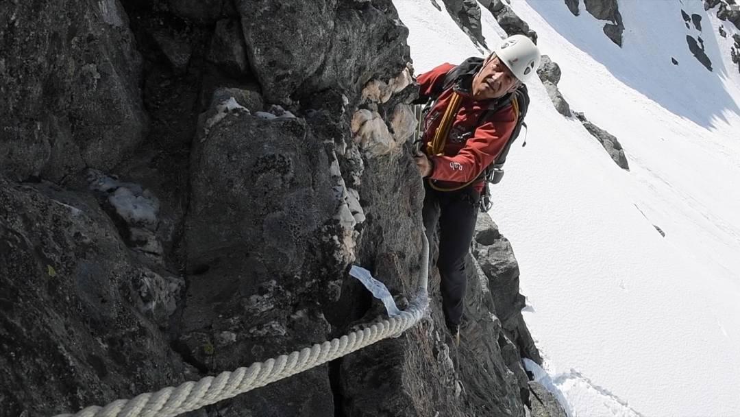 Einweihung der «Via Cordata»: Dank dieses Videos können auch Nicht-Kletterer auf die Route.