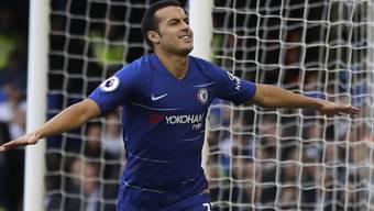 Pedro schoss das 1000. Tor von Chelsea in der Premier League