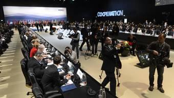 OSZE: Gastgeber Didier Burkhalter begrüsst seine Gäste
