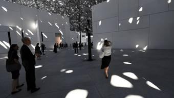 Spektakuläre Museums-Einweihung: Am Samstag, 11. November, eröffnet das Louvre Abu Dhabi - mit dem Ziel, Kulturen zu verbinden.