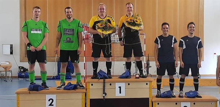 2. Rang: Seon-Niederlenz, Sebastian Stempfel  + Stefan Zehnder 1. Rang: Schöftland, Urs Schöpfer + Fabian Baumann 3. Rang: Wettingen, Daniel + Sascha Ursprung