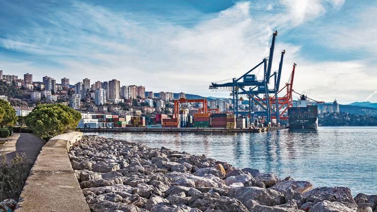 Der Hafen hat die kroatische Stadt Rijeka geprägt und sie in einen Schmelztiegel der Kulturen verwandelt.