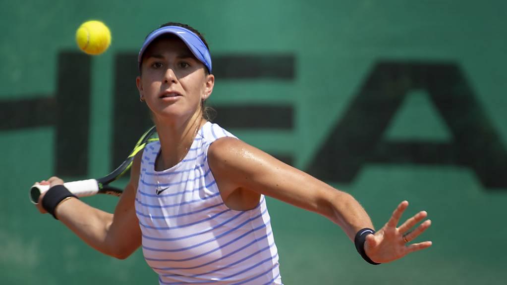 Belinda Bencic visiert die Top 10 des WTA-Rankings an.