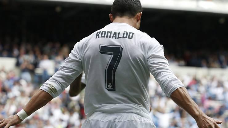 Ronaldo ist auch gegen Eibar erfolgreich