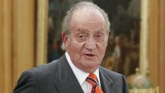 Der spanische König Juan Carlos (Archiv)
