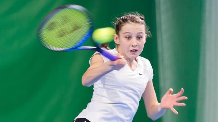 Die Hägendörferin Anina Lanz startet an der SM bei den U14-Juniorinnen.