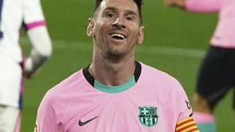 Sein 644. Tor für Barcelona in Valladolid dürfte für Lionel Messi noch nicht das letzte gewesen sein.