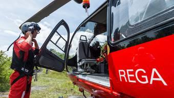 Ein Arzt der Rega stellte am Unfallort den Tod des Mannes fest.