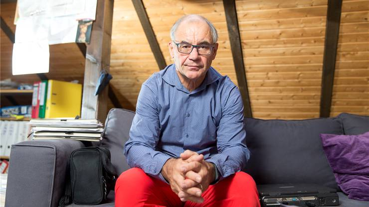 Rudolf Elmer, Ex-Banker, Aktivist, Täter und Hausmann.