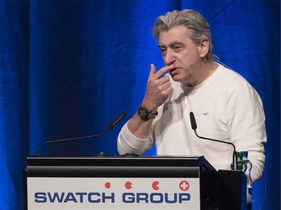 Swatch-Chef Nick Hayek hat die Nase voll von Basel.