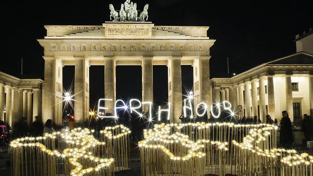 In 180 Ländern gehen um 20.30 Uhr die Lichter aus