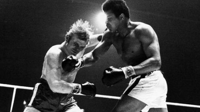 Im Hallenstadion überstand Blin sieben Runden gegen den übermächtigen Ali. Foto:  Reto Hügin  - SI